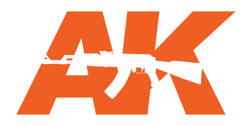 AK Interactive AK611 FLAT BRUSHES 6 SYNTHETIC