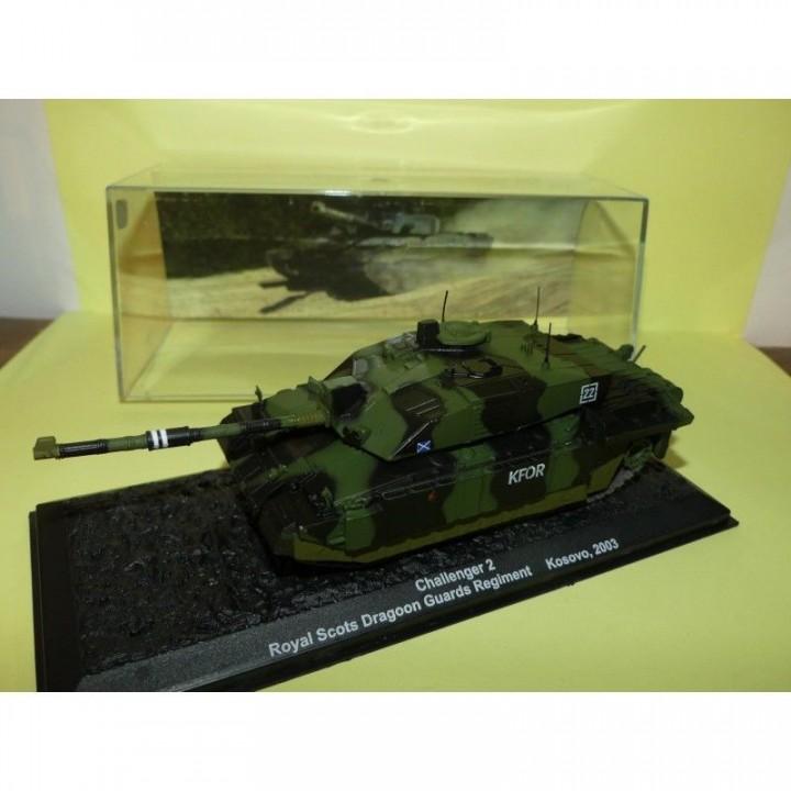Kfor Challenger 2 With Up-grade Armor Scots Dg Tank 1:72 Model DRAGON MODELS