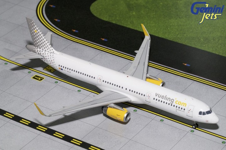 Boxart Airbus A321S Vueling G2VLG687 Gemini Jets