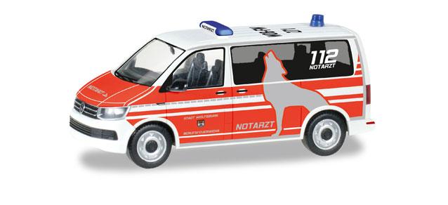 Herpa Minikit VW T6 Bus silber 012911